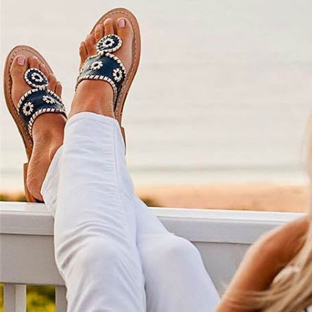 Shop Preppy Jack Rogers Sandals