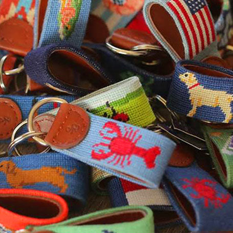 Shop Needlepoint Key Fobs