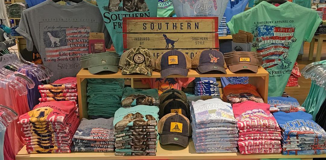 Southern Fried Cotton Tee Shirts