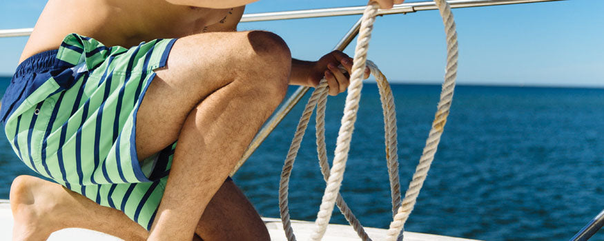 Preppy Men's Swimwear Spring 2016