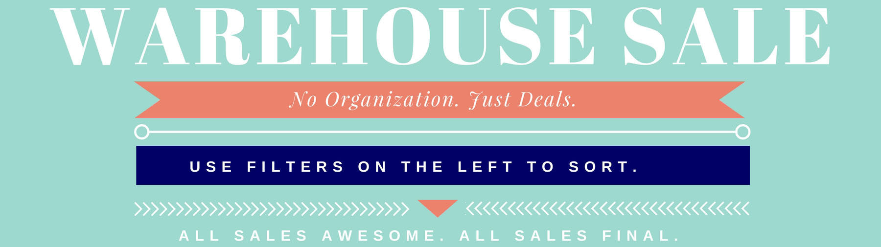 February Warehouse Sale