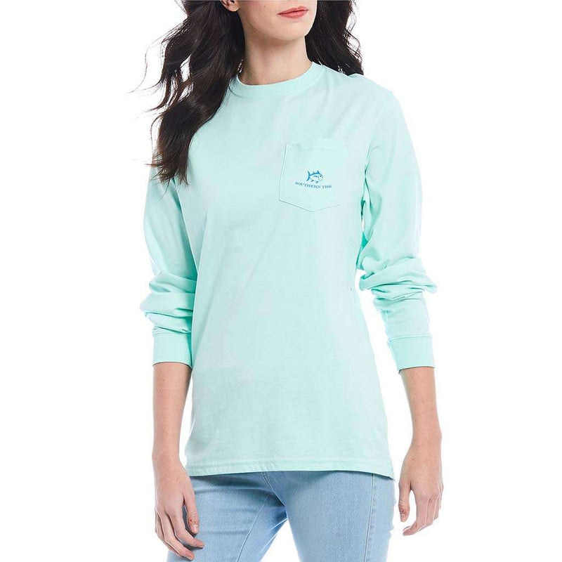 Southern Tide Women's Long Sleeve Sunset Jeep T-Shirt by Southern Tide