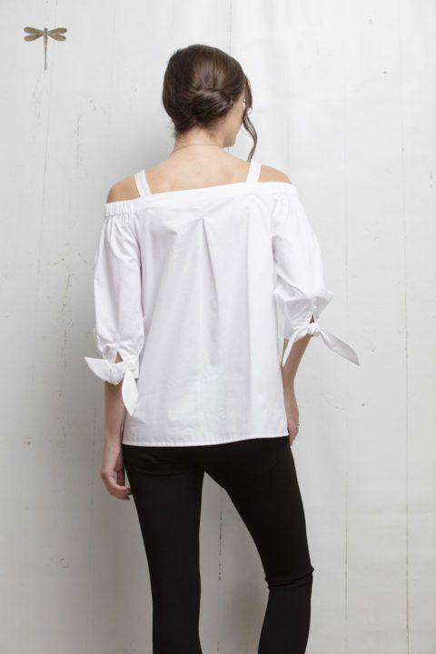 Cali Top in White by Tyler Boe - FINAL SALE