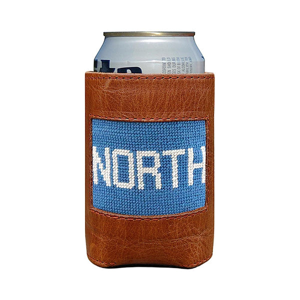 North Needlepoint Can Cooler by Smathers & Branson