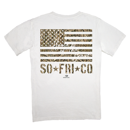 CamouFLAGe Tee by Southern Fried Cotton