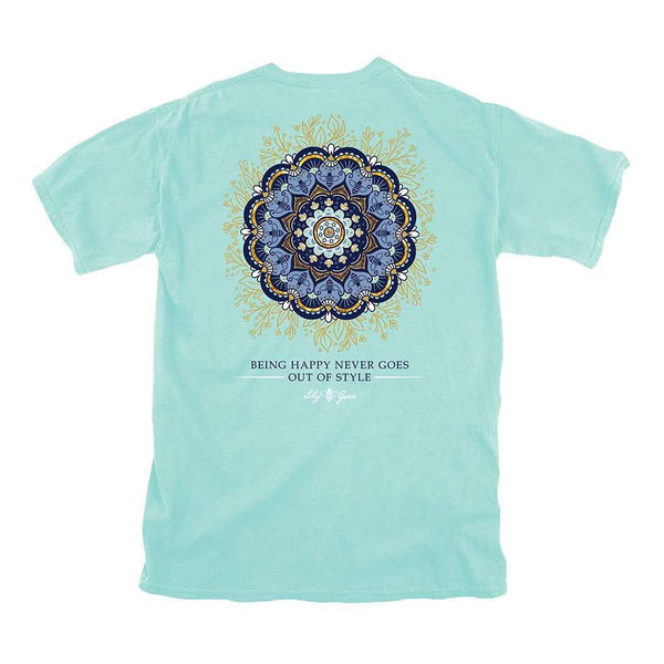 cbe823ae Lily Grace Mandala Tee by Lily Grace Country Club Prep Chalky Mint / S