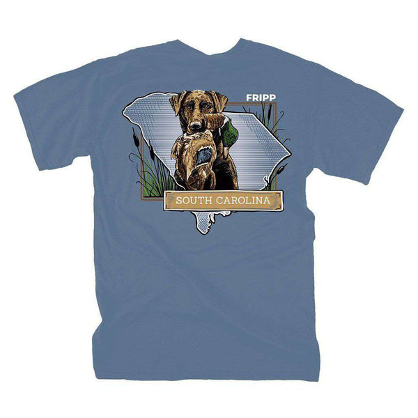 Fripp Outdoors Dog & Duck South Carolina T-Shirt in Marine Blue