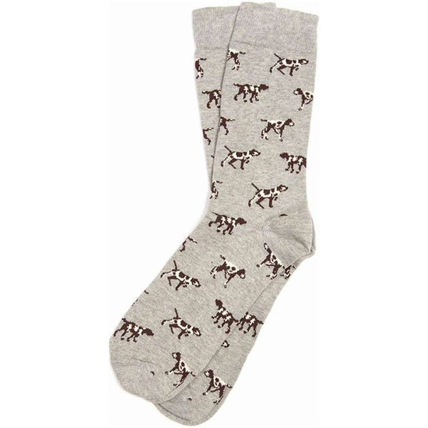 Barbour Pointer Socks in Grey Marl