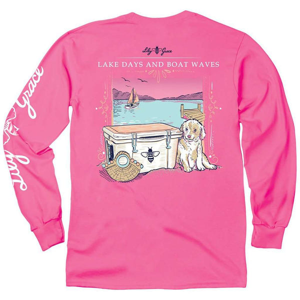 Lily Grace Lake Days Long Sleeve Tee by Lily Grace