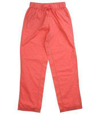 Ladies Lounge Pants in Sunkissed Coral by Southern Tide