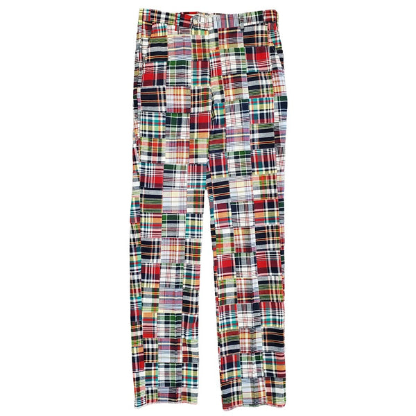 Montauk Madras Pants by Country Club Prep