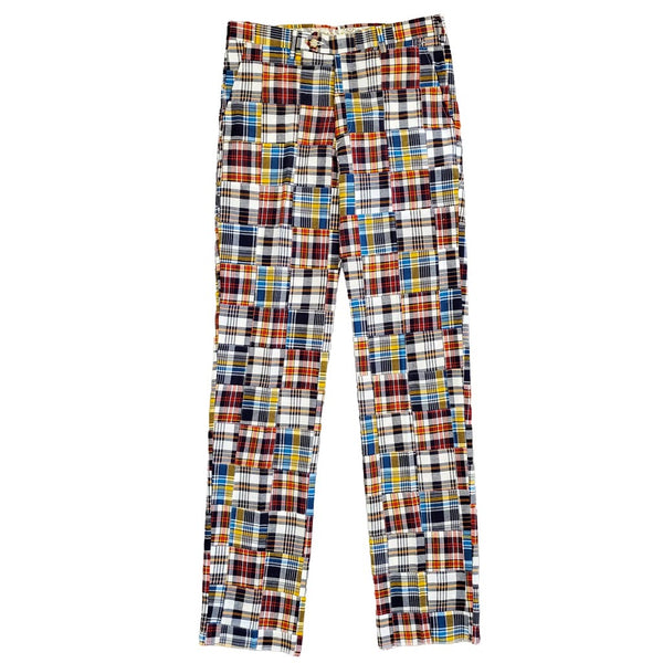 Vineyard Madras Pants by Country Club Prep