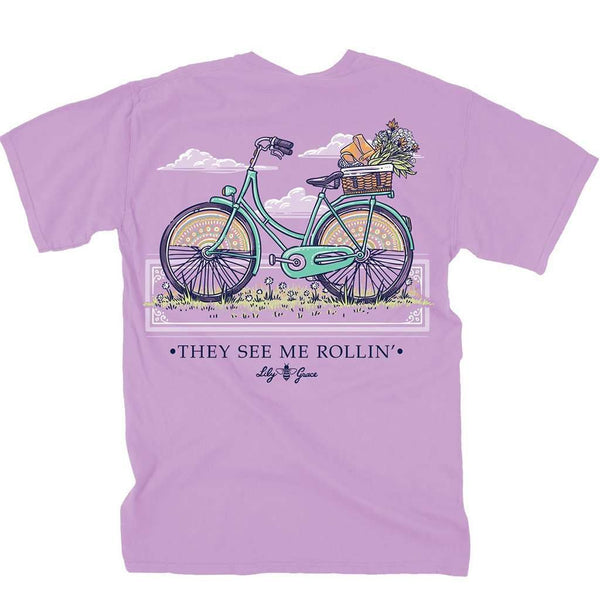 Lily Grace They See Me Rollin' Tee by Lily Grace