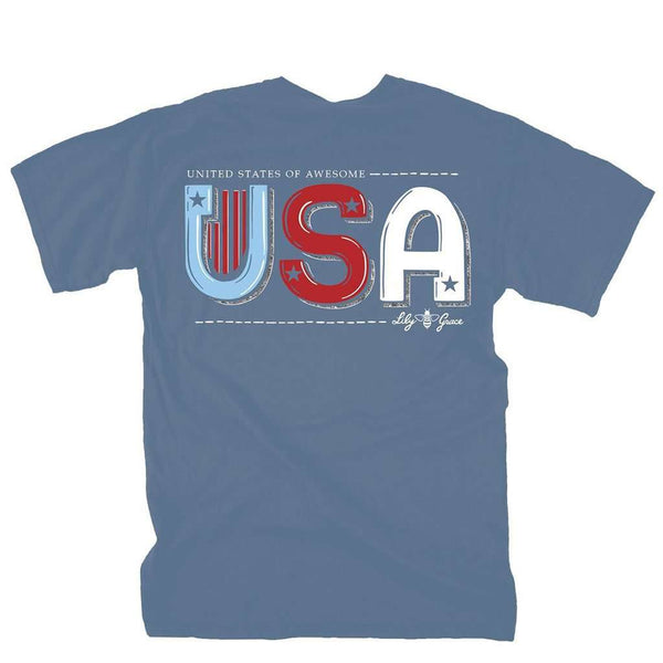 Lily Grace United States of Awesome Tee by Lily Grace