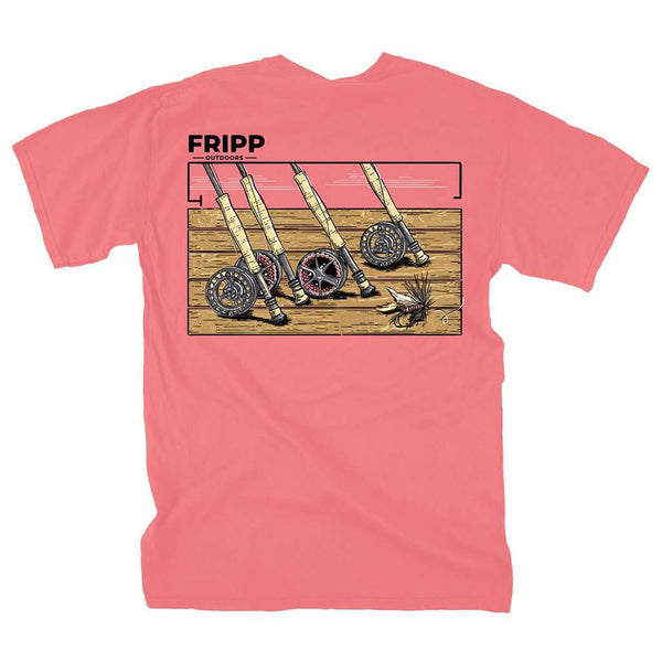 Fripp & Folly Fishing Rods T-Shirt by Fripp Outdoors