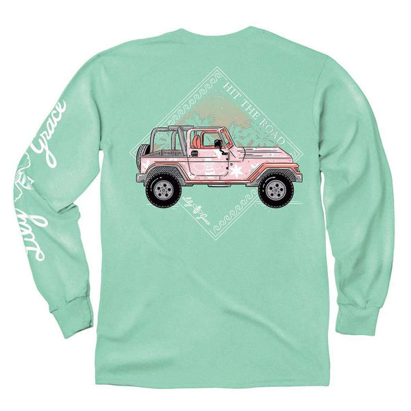 Lily Grace Hit the Road Long Sleeve Tee by Lily Grace