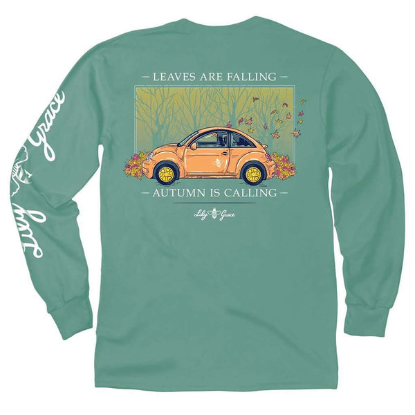 Lily Grace Leaves Are Falling Long Sleeve Tee by Lily Grace