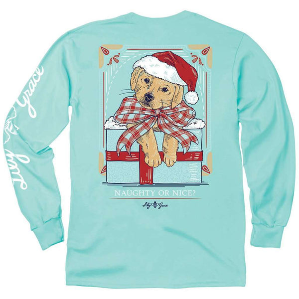 Lily Grace Naughty or Nice Long Sleeve Tee by Lily Grace