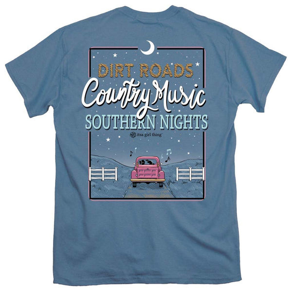 Dirt Roads Tee by Itsa a Girl Thing