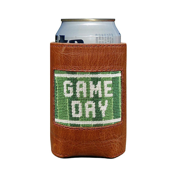 Game Day Needlepoint Can Cooler by Smathers & Branson