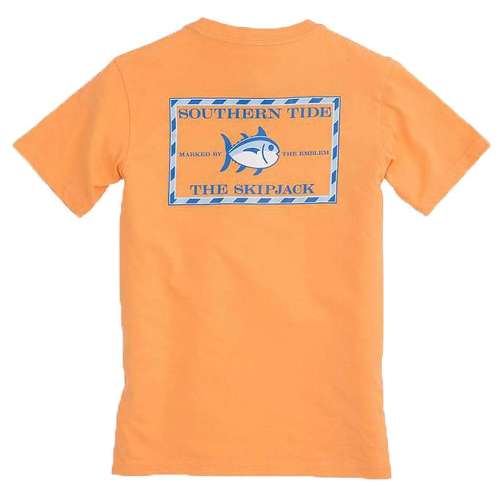 Kids' Original Skipjack T-Shirt in Horizon by Southern Tide