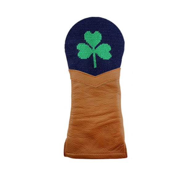 Shamrock Needlepoint Fairway Wood Headcover by Smathers & Branson