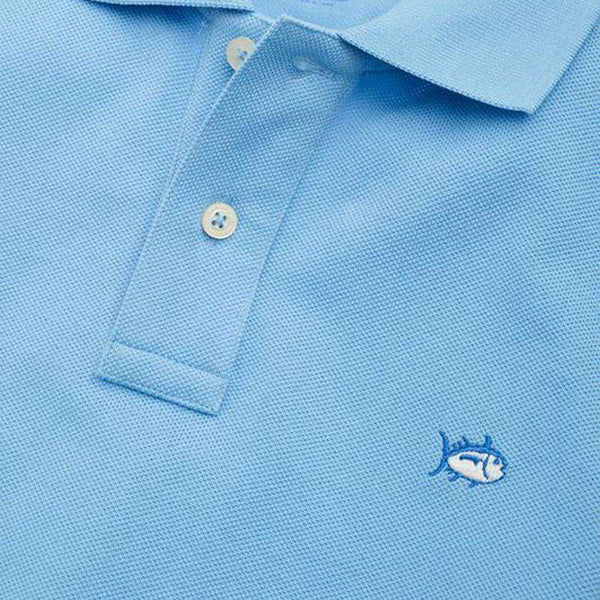Boys' Skipjack Polo in Ocean Channel by Southern Tide