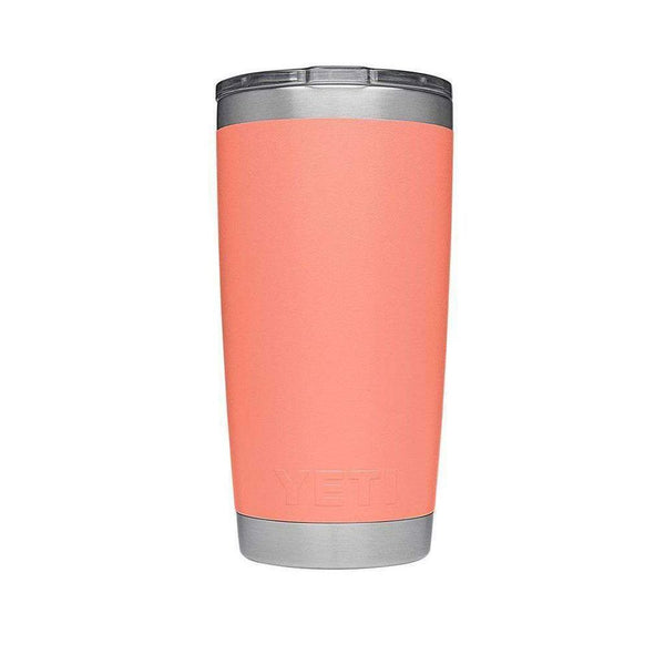 20 oz. DuraCoat Rambler Tumbler in Coral with Magslider™ Lid by YETI