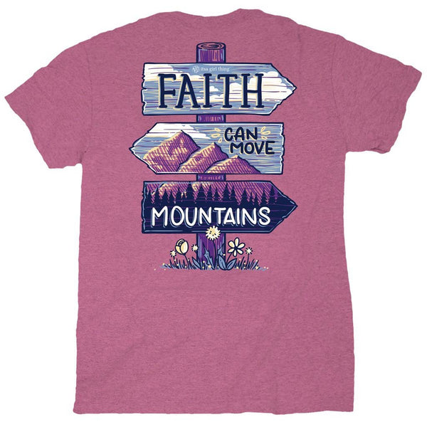 Faith Can Move Mountains Tee by Itsa a Girl Thing