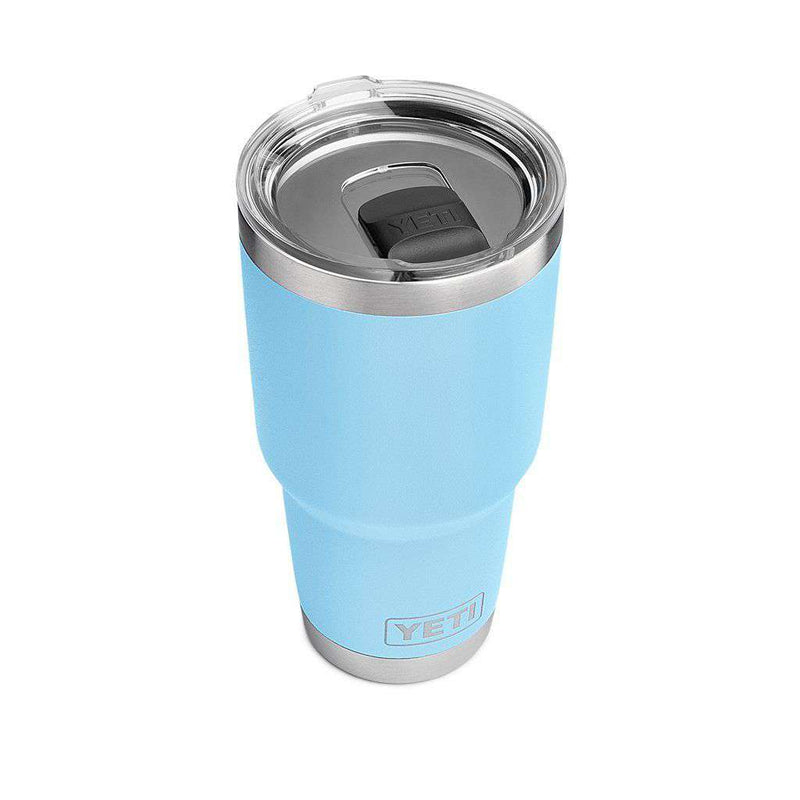 30 oz. DuraCoat  Rambler Tumbler in Sky Blue with Magslider™ Lid by YETI