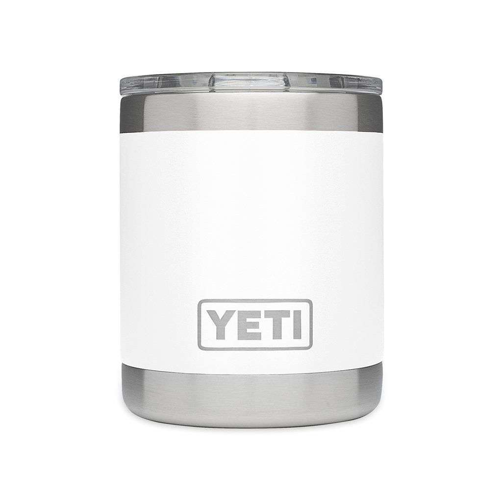 10 oz. Rambler Lowball in White by YETI