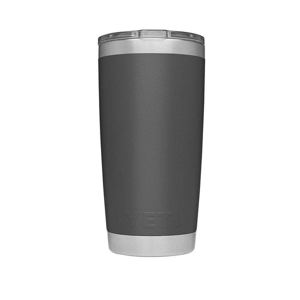 20 oz. DuraCoat Rambler Tumbler in Charcoal with Magslider™ Lid by YETI