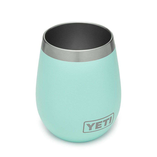 YETI 2 Pack Rambler 10oz Wine Tumbler in Seafoam