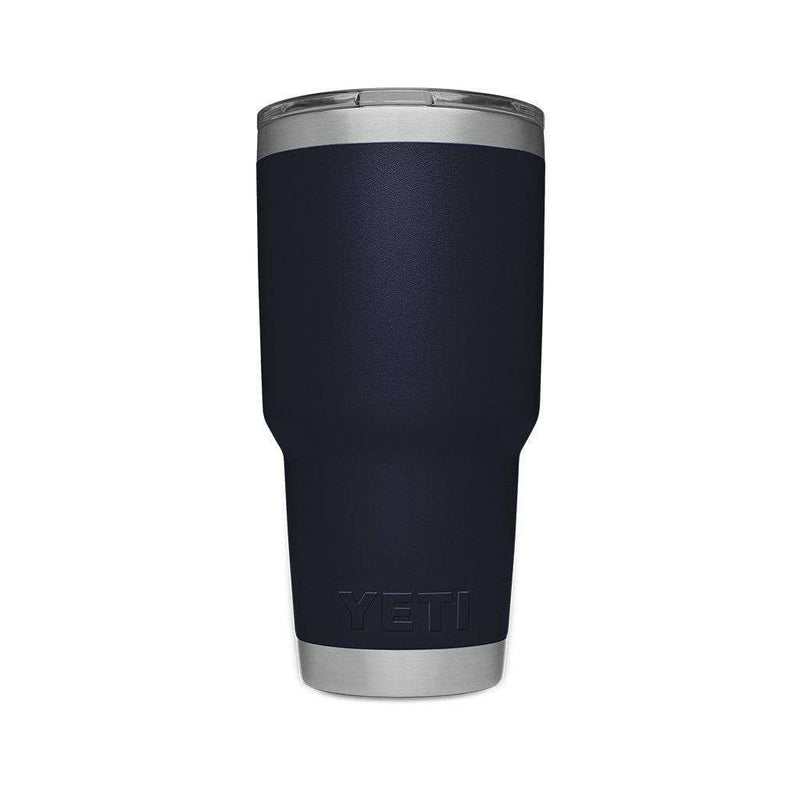 YETI 30 oz. DuraCoat Rambler Tumbler in Navy with Magslider™ Lid