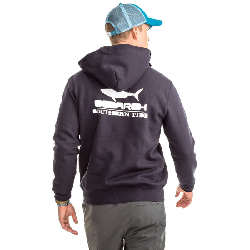 OCEARCH Full Zip Hoodie in Dark Navy by Southern Tide