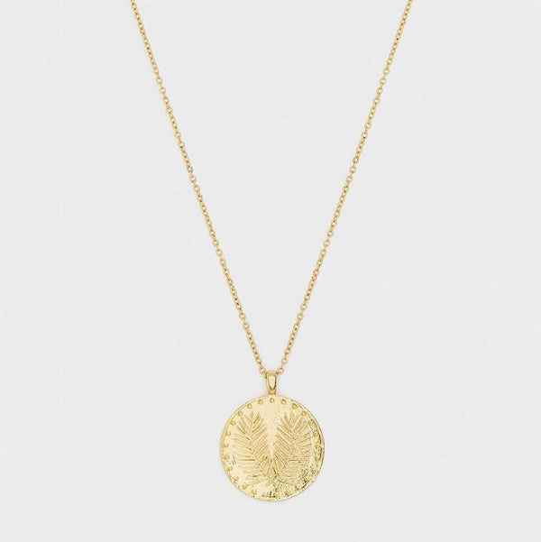 Gorjana Palm Coin Necklace by Gorjana