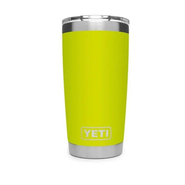 20 oz. Rambler Tumbler in Chartreuse with Magslider™ Lid by YETI