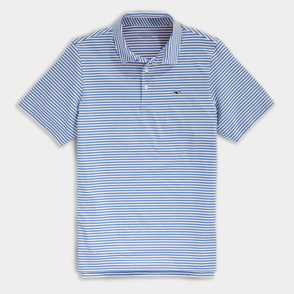 Custom Heathered Winstead Sankaty Performance Polo by Vineyard Vines