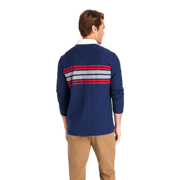 Vineyard Vines Placed Chest Stripe Rugby Shirt by Vineyard Vines