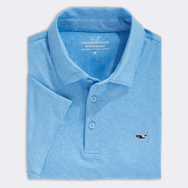 Custom Destin Stripe Sankaty Performance Polo by Vineyard Vines