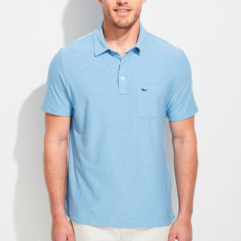 Custom Seawall Solid Edgartown Polo by Vineyard Vines