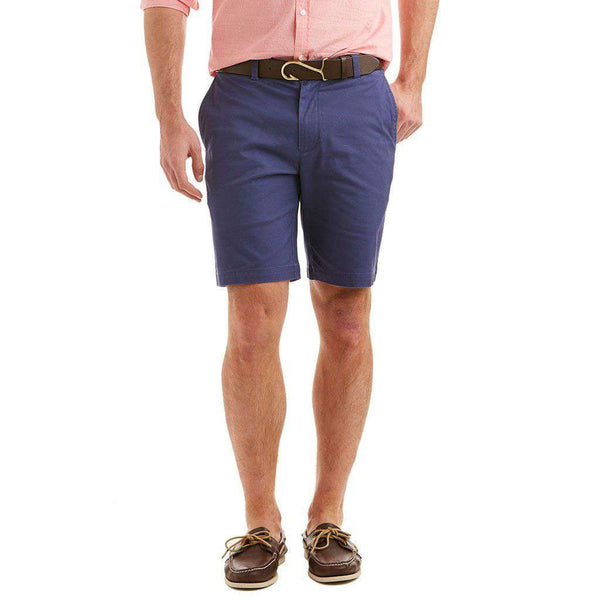 "Vineyard Vines 9"" Stretch Breaker Shorts in Deep Cobalt"