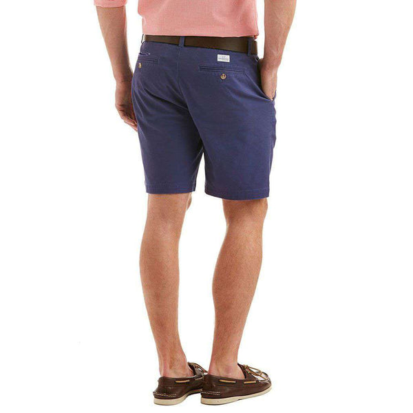 "9"" Stretch Breaker Shorts in Deep Cobalt by Vineyard Vines"