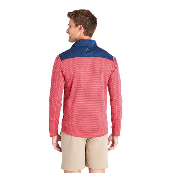 Vineyard Vines Striped Sankaty 1/2-Zip Pullover by Vineyard Vines
