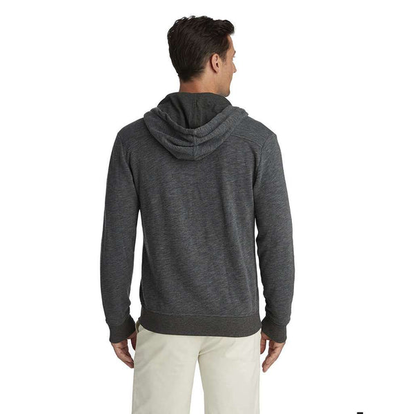 Vineyard Vines Full Zip Hoodie in Medium Heather Grey