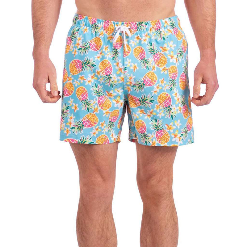 The Southern Shirt Co. Pineapple Express Swim Trunk by The Southern Shirt Co.