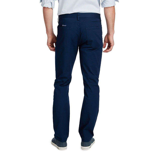 Vineyard Vines Canvas 5 Pocket Slim Pants by Vineyard Vines