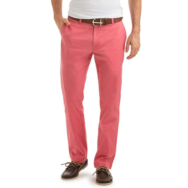 Vineyard Vines Stretch Breaker Pants in Lobster Reef