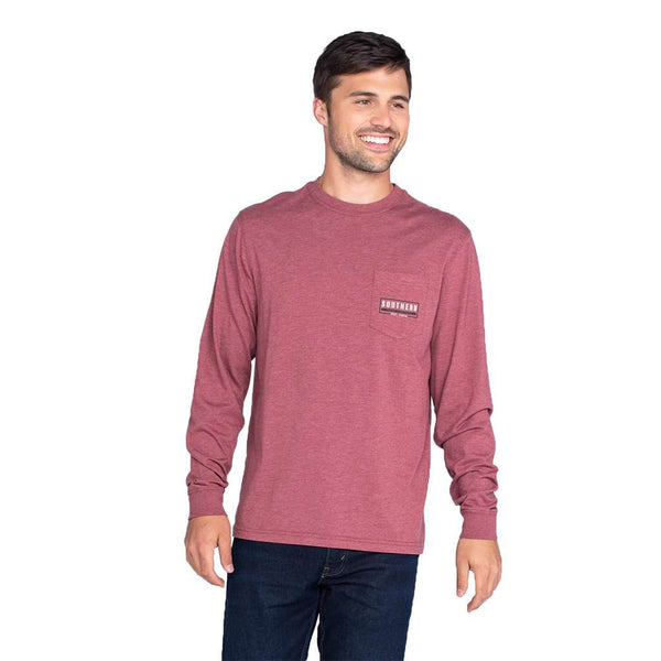 The Southern Shirt Co. Mountain Stamp Long Sleeve Tee by The Southern Shirt Co.