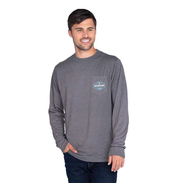 The Southern Shirt Co. Tricolor Trout Long Sleeve Tee by The Southern Shirt Co.